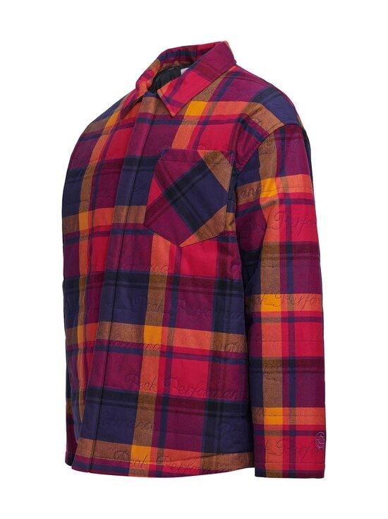 Peak Performance - Ben Gorham Flannel Overshirt Unisex -paita - 50M POWER PINK   Stockmann - photo 3