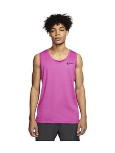 Nike - Pro Tank -paita - 620 NOBLE RED/FIRE PINK/HTR/BLACK | Stockmann