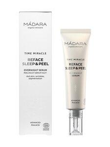Madara - TIME MIRACLE Reface Sleep & Peel Overnight Serum -seerumi 30 ml   Stockmann