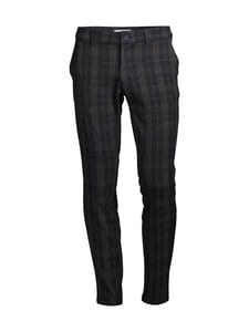 Only & Sons - OnsMark Pant Check -housut - DARK NAVY | Stockmann