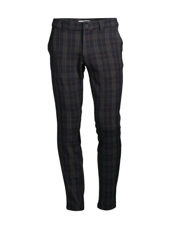 Only & Sons - OnsMark Pant Check -housut - DARK NAVY | Stockmann - photo 1