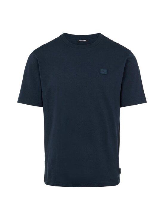 J.Lindeberg - Dale Logo Patch T-shirt -paita - 6855 JL NAVY | Stockmann - photo 1