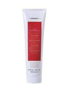 Korres - Wild Rose Exfoliating Cleanser -kevyesti kuoriva puhdistusvoide 150 ml   Stockmann
