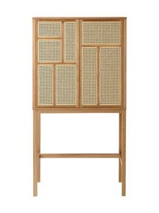 Design House Stockholm - Air-kaappi 80 x 144 x 38 cm - OAK | Stockmann