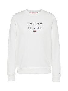 Tommy Jeans - Tjw Essential Logo Sweatshirt -collegepaita - YBR WHITE   Stockmann