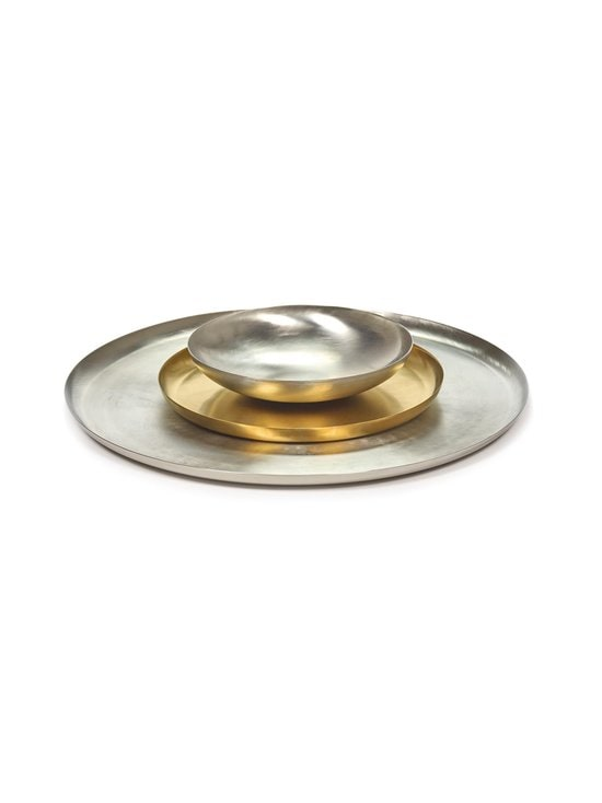 Serax - Table Accessories -tarjoilulautanen ⌀ 36 cm - STEEL | Stockmann - photo 3