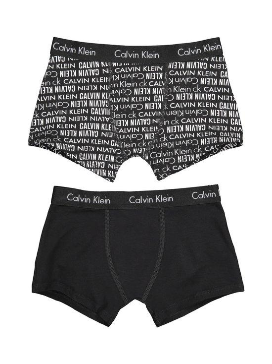 Calvin Klein Kids - Modern Cotton -bokserit 2-pack - BLACK PRINT/BLACK | Stockmann - photo 2