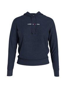Tommy Jeans - TJW Linear Logo Hoodie -huppari - C87 TWILIGHT NAVY | Stockmann