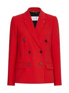Calvin Klein Womenswear - FINE TWILL DB -bleiseri - XL7 RED GLARE | Stockmann