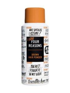 Four Reasons - Brown Hair Powder -hiuspuuteri ruskeille hiuksille 100 ml - null | Stockmann