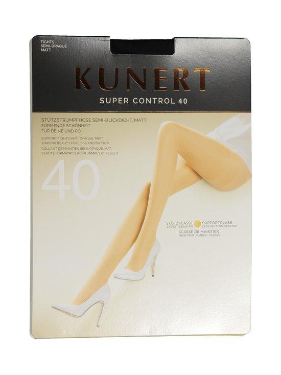 Kunert - Super Control 40 den -sukkahousut - BLACK   Stockmann - photo 1