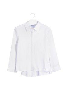 Mayoral - Oxford Blouse Girls Uniform -paita - 87 NATURAL | Stockmann