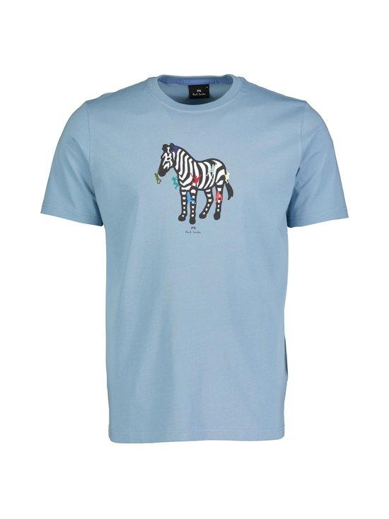 PS Paul Smith - 'Zebra Climbers' Print Organic Cotton T-Shirt -paita - 42A | Stockmann - photo 1