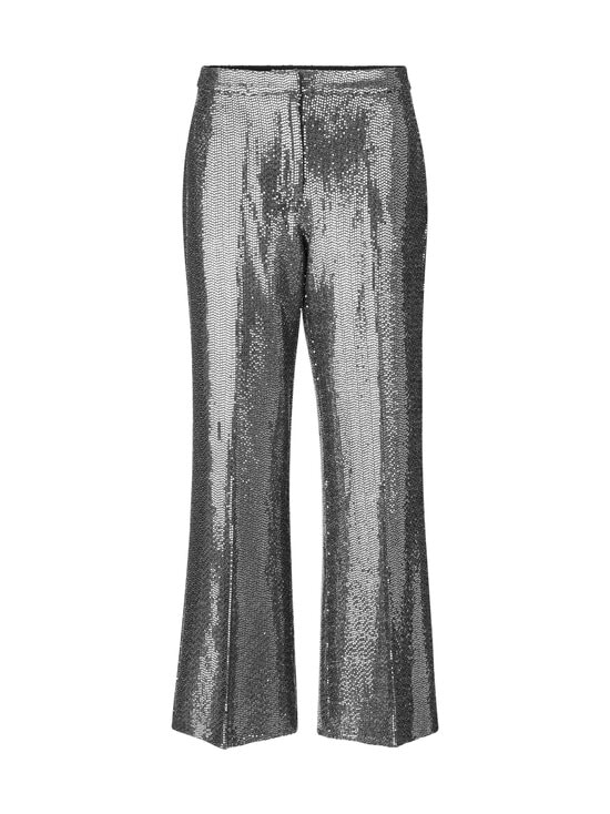 SECOND FEMALE - Fontaine Trousers -housut - 7019 SILVER   Stockmann - photo 1