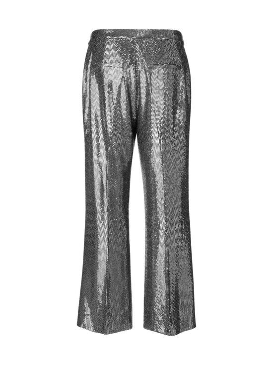 SECOND FEMALE - Fontaine Trousers -housut - 7019 SILVER   Stockmann - photo 2