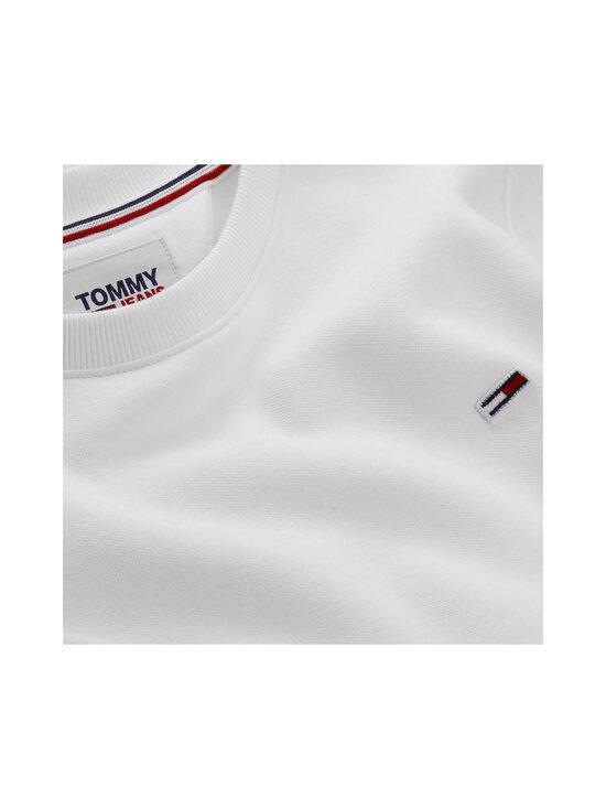 Tommy Jeans - TJW Regular Fleece C Neck -collegepaita - YBR WHITE   Stockmann - photo 3