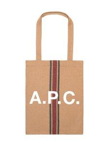 A.P.C - Tote Lou -laukku - CAF CARAMEL   Stockmann
