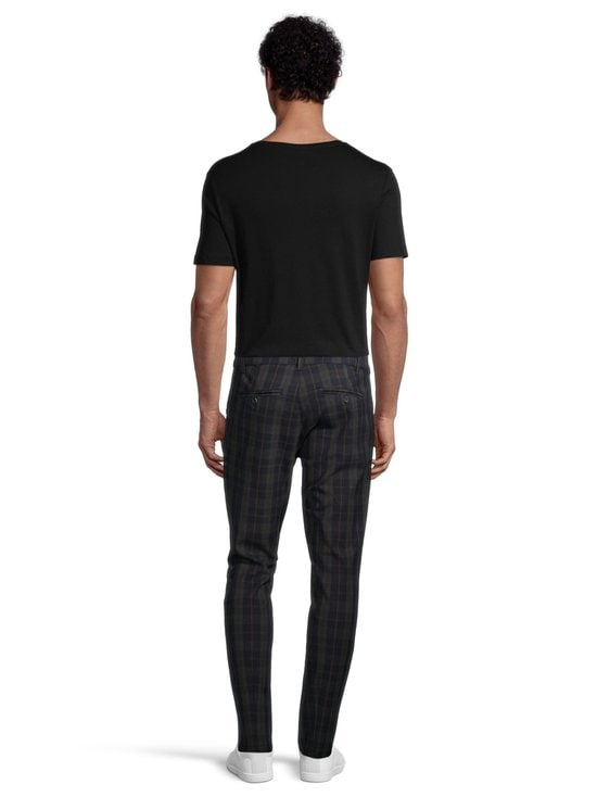Only & Sons - OnsMark Pant Check -housut - DARK NAVY | Stockmann - photo 3