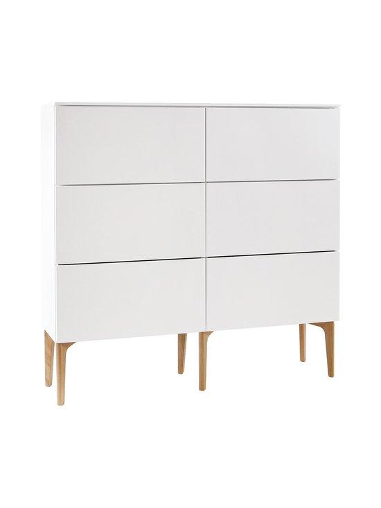 Lundia - Fuuga-laatikosto 35 x 124 x 128 cm - VALKOINEN/TAMMI | Stockmann - photo 1