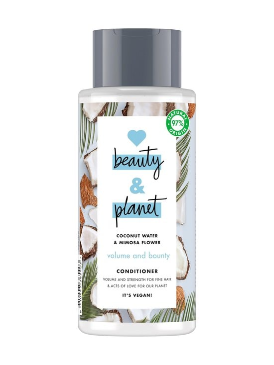 Love Beauty and Planet - Volume and Bounty Conditioner -hoitoaine 400 ml - NOCOL | Stockmann - photo 1