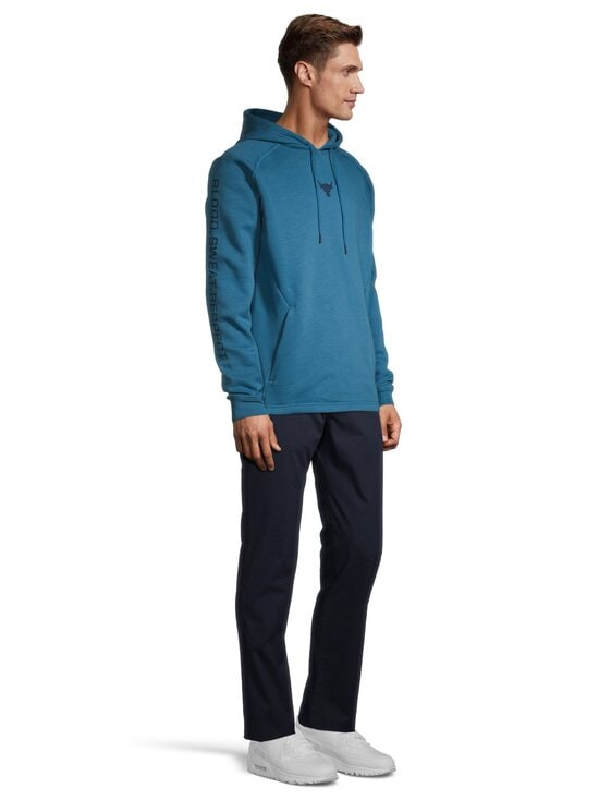 Under Armour - Project Rock Charged Cotton® Hoodie -huppari - 446 ACADIA / / ACADEMY | Stockmann - photo 3