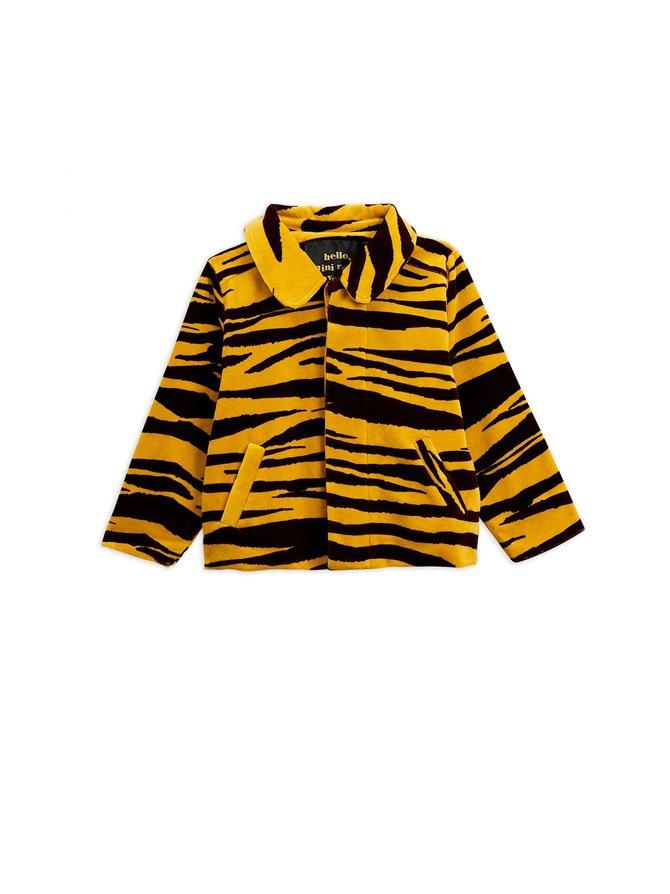 Tiger Velour Jacket -takki