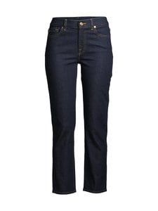 7 For All Mankind - The Straight Crop Original -farkut - DARK BLUE | Stockmann