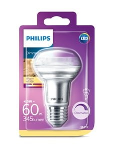 Philips - LED 4,5W (60W) E27 R63 -heijastinlamppu - WHITE | Stockmann