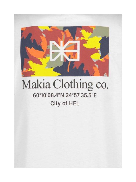 Makia - Barrier T-Shirt -paita - 11 WHITE | Stockmann - photo 3