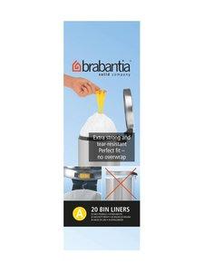 Brabantia - Roskapussi 3 l, 20 kpl - VALKOINEN | Stockmann