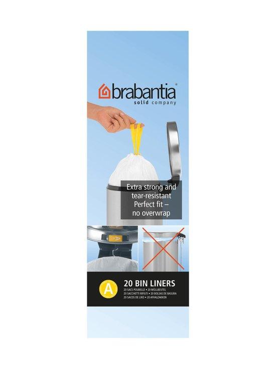 Brabantia - Roskapussi 3 l, 20 kpl - VALKOINEN   Stockmann - photo 2