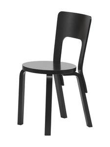 Artek - 66-tuoli, koottava - MAALATTU MUSTA | Stockmann