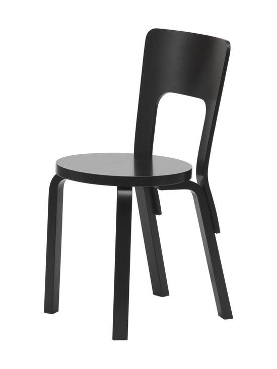 Artek - 66-tuoli, koottava - MAALATTU MUSTA | Stockmann - photo 1