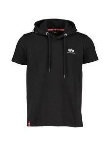 Alpha Industries - Printed Hoody T-Shirt -paita - 03 BLACK | Stockmann