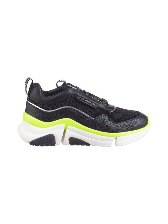 Karl Lagerfeld - Venture Lazarus Loop Mix -sneakerit - BLACK,YELLOW 40E | Stockmann - photo 1