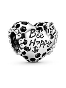 Pandora - Bee Happy Honeycomb Heart -hela - null | Stockmann