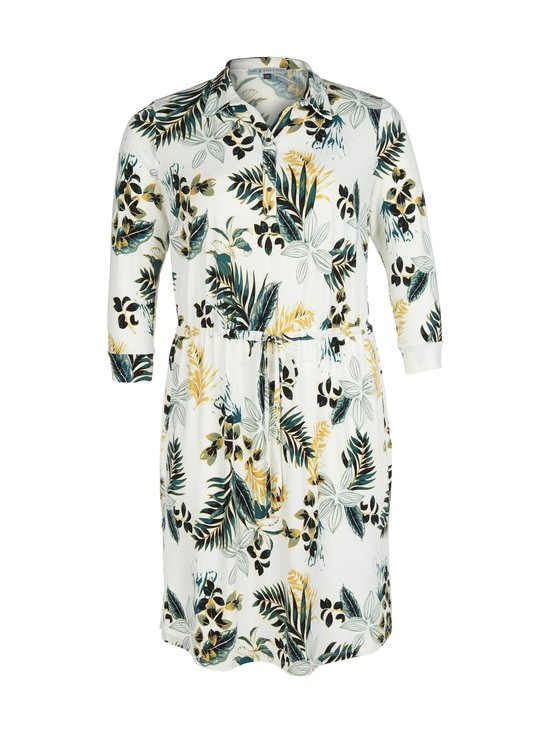 cut & pret PLUS - Minni Plus -paitamekko - OFFWHITE TROPICAL PRINT | Stockmann - photo 1