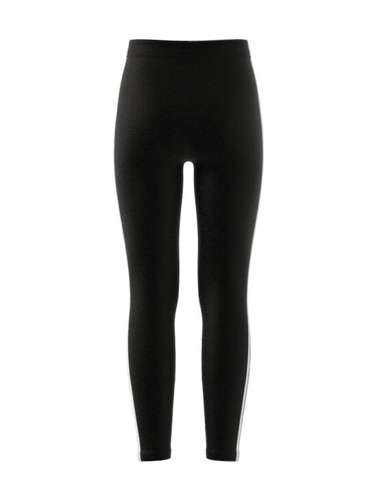 adidas Performance - ESSENTIALS 3 STRIPES -leggings - BLACK/WHITE | Stockmann - photo 2