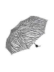 A+more - Cumbrella-sateenvarjo - FLOWERS ON DARK BASE | Stockmann