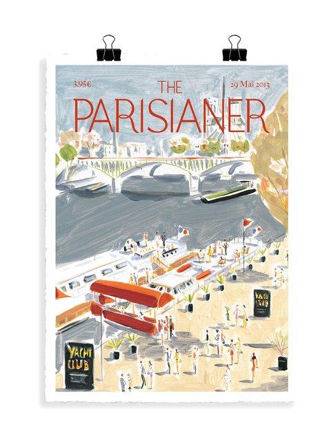 The Parisianer N49 Corbasson -juliste 56 x 76 cm