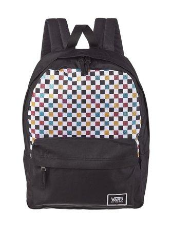 Glitter Check Realm backpack - Vans