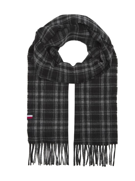Tommy Hilfiger - Uptown-villahuivi - 0MD BLACK CHECK | Stockmann - photo 1