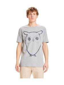 Knowledge Cotton Apparel - T-paita - 1012 GREY MELANGE   Stockmann