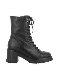 Wonders - H 4422 block heel -saappaat nauhoilla - WILD NEGRO | Stockmann