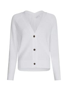 Calvin Klein Womenswear - V-Neck Cardigan -neuletakki - YAF BRIGHT WHITE | Stockmann
