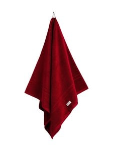Gant Home - Organic Premium -pyyhe 70 x 140 cm - 645 DARK RED | Stockmann