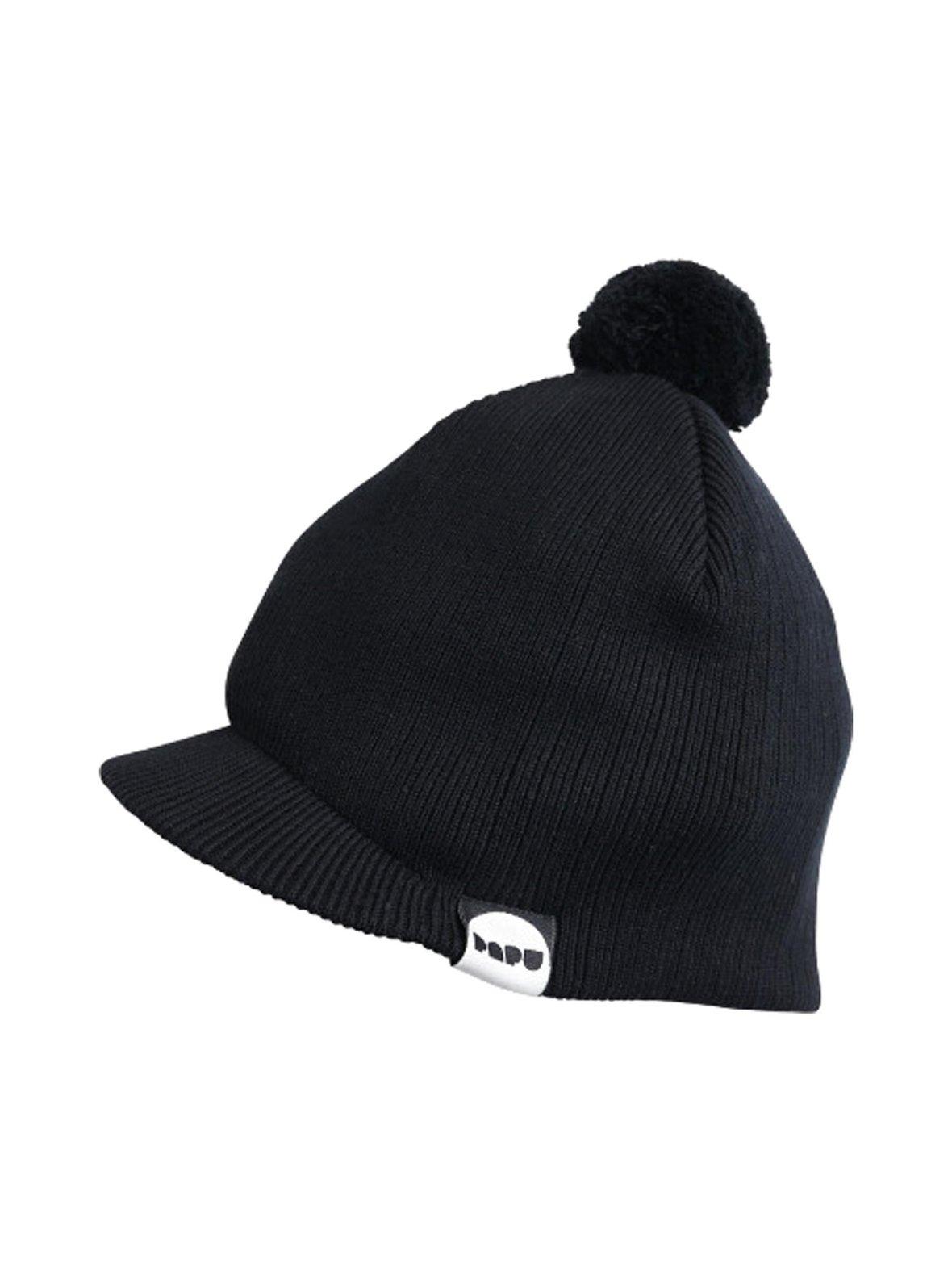 e2c12fb141a Black (musta) Papu Knit Pom Pom -pipo