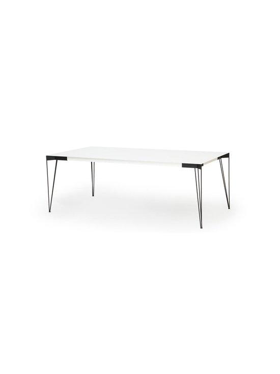 Muurame - Viiva-ruokapöytä 208 x 104 cm - WHITE/BLACK | Stockmann - photo 1