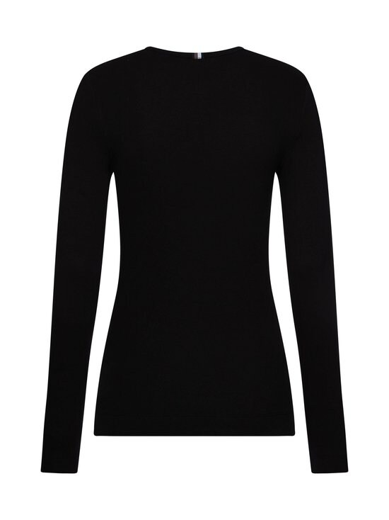 Tommy Hilfiger - TH Essential Rib-Knit Long Sleeve -paita - BDS BLACK | Stockmann - photo 2