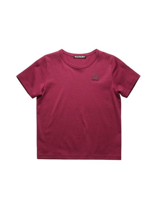 Acne Studios - Mini Nash Face T-shirt -paita - DARK PINK ACS | Stockmann - photo 1